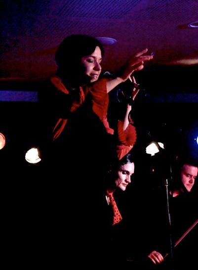 Kacey Patrick with The Saruzu Quartet