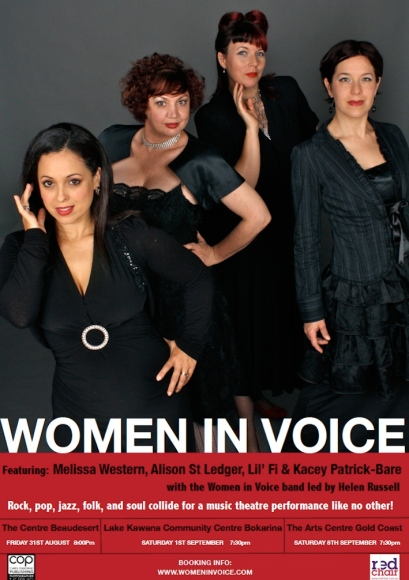 Women In Voice On Tour (2012) : poster