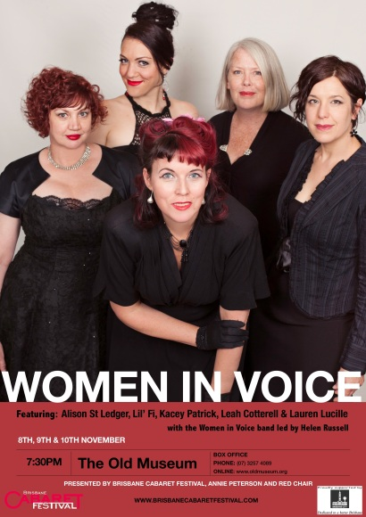 WomenInVoice19 - Brisbane Cabaret Festival