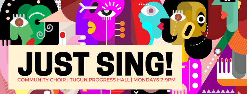 JUST SING! Facebook Header